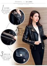 leather clothing Other / other Autumn 2020 S [recommended 75-87 kg], m [recommended 88-97 kg], l [recommended 98-107 kg], XL [recommended 108-117 kg], XXL [recommended 118-127 kg], XXXL [recommended 128-137 kg], 4XL [recommended 138-150 kg] I11 - black four seasons, G17 - Black Plush thickened zipper