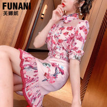 Fashion suit Summer 2021 S M L XL Pink (30 days in advance) 25-35 years old Phoenicia F2120162 Polyester 100% Pure e-commerce (online only)