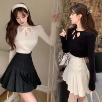 Fashion suit Winter 2020 S. M, average size White T single sell, black T single sell, white skirt single sell, black skirt single sell 18-25 years old One point nine 81% (inclusive) - 90% (inclusive)