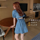 Dress Summer 2020 blue S,M,L cotton