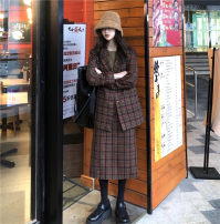 Fashion suit Winter of 2019 Average size Jacket, skirt 18-25 years old 31% (inclusive) - 50% (inclusive) cotton