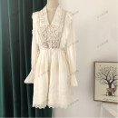 Dress Spring 2021 white XS,S,M,L 25-29 years old
