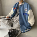 Jacket myfangshao Youth fashion Apricot, blue, black, pink S,M,L,XL routine easy Other leisure spring Long sleeves Wear out Youthful vigor youth routine Single breasted 2021 Embroidery