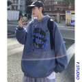 Sweater Youth fashion myfangshao M,L,XL,2XL originality Socket routine Hood spring easy leisure time teenagers tide routine cotton printing No iron treatment Kangaroo pocket Japanese and Korean style