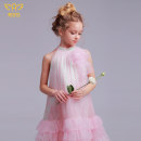 Dress Pink female I natural Angel / aianjiu 110cm 120cm 130cm 140cm 150cm 160cm Polyester 76.3% polyamide 23.7% summer princess Skirt / vest Solid color polyester A-line skirt AAJ654 Class B Summer 2021 Chinese Mainland Shanghai Shanghai