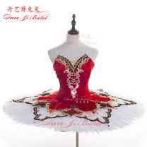 Ballet Costume Dan Yi Ballet female Red national version, red foreign trade S,M,L other DY-0205