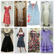 Dress Summer 2014 Price change after auction It costs 2190 yuan for No.1 70s flower bubble sleeve skirt, 1389 yuan for No.2 Victoria lace pink skirt, 1290 yuan for No.6 80s sailor Lapel striped skirt and 699 yuan for No.7 flower Lapel afternoon tea skirt