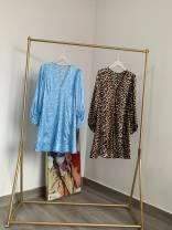 Dress Summer 2020 Blue print, leopard print 34, 36, 38, 40