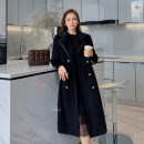 Women's large Winter 2020 black L [genuine quality assurance], 1XL [genuine quality assurance], 2XL [genuine quality assurance], 3XL [genuine quality assurance], 4XL [genuine quality assurance] woolen coat singleton  commute Self cultivation thick Cardigan Long sleeves Solid color Ol style routine