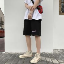 Casual pants Others other K911 black (65 cotton) M. L, XL, XXL thin Pant Other leisure easy Micro bomb NZ-1307 summer teenagers Basic public 2020 middle-waisted Straight cylinder Pocket decoration No iron treatment other cotton