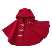 Cape / Cloak The world of red 80cm,90cm,100cm,110cm,120cm,130cm,140cm,150cm,160cm,170cm No detachable cap neutral No season Fleece Plush college Solid color Single breasted Polyethylene terephthalate (polyester) 100% Class B Intradermal bile duct
