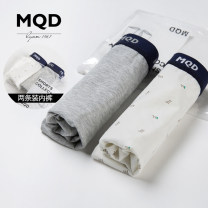 underpants Cotton blended fabric MQD Grey + white 110cm 120cm 130cm 140cm 150cm 160cm 170cm Cotton 93.8% polyurethane elastic fiber (spandex) 6.2% summer male 3-5 years old 5-7 years old 7-9 years old 9-11 years old Class B F16302001 Expel dampness and absorb sweat Summer 2017