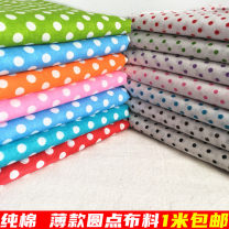 Fabric / fabric / handmade DIY fabric cotton Loose shear piece Others printing and dyeing clothing Chinese style 100% Jiangsu Province Chinese Mainland