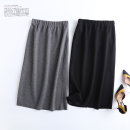 skirt Spring 2021 S,M,L Black, gray longuette skirt Solid color 18-24 years old 30% and below other other