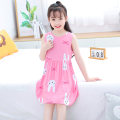 Home skirt / Nightgown YBS 11-13 years old, above 13 years old, 3-5 years old, 5-7 years old, 7-9 years old, 9-11 years old summer Yabaoshi Viscose (viscose) 100% female Class B Expel dampness and absorb sweat at home cotton Chinese Mainland Zhejiang Province Wenzhou City