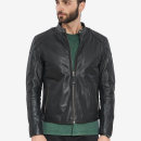leather clothing GRIGORIOS VAINAS Youth fashion Camel, black S,M,L,XL,2XL,3XL,XS have cash less than that is registered in the accounts Leather clothes stand collar Slim fit zipper winter leisure time youth top layer leather tide Romeo man Straight hem Zipper bag