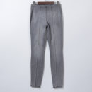 Jeans Autumn of 2019 Grey knitwear, blue knitwear 2 about 26, 4 about 27, 6 about 28, 8 about 29, 10 about 30, 12 about 31, 14 about 32, 16 about 33, plus size 16W about 34, plus size 18W about 36, plus size 22W about 40 trousers Natural waist Pencil pants routine Whiten and wash Cotton denim