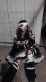 Lolita / soft girl / dress black One, two