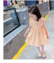 Dress Orange female Other / other 90cm,100cm,110cm,120cm,130cm,140cm Other 100% summer princess Skirt / vest lattice other Princess Dress Class B 18 months, 2 years old, 3 years old, 4 years old, 5 years old, 6 years old, 7 years old, 8 years old, 9 years old, 10 years old Chinese Mainland
