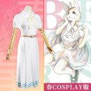 Cosplay women's wear skirt goods in stock Over 14 years old Rabbit spring cos short sleeve (dress + BELT + bow tie + socks), rabbit spring cos long sleeve (dress + BELT + bow tie + socks), same uniform bag, student shoes (36-39) comic 50. M, s, XL, one size fits all Star River animation Japan Dress