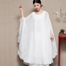 Dress Summer 2020 Top, pants 2120 M,L,XL,2XL longuette Two piece set commute Others Retro