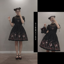 Lolita Dress White, black L,M,S,XS,XL Customized Chiffon