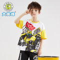 T-shirt Black sky blue earth yellow black (720261023) black red (720261023) 1 2 3 Big wasp / Bumblebee 120cm 130cm 140cm 150cm 160cm 170cm male summer Short sleeve Crew neck Cool There are models in the real shooting nothing cotton Cartoon characters Cotton 67.5% polyester 32.5% H630261054 Class C