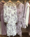 Dress Spring 2021 Off white, light purple Average size
