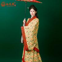 Hanfu 96% and above Autumn of 2018 Graph color S,M,L,XL Vinylon