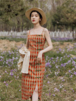 Fashion suit Summer 2020 S,M,L Single suspender skirt, suspender skirt + cardigan