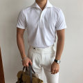 T-shirt Fashion City White, gray, black, brown, beige routine M (170-175) in stock, l (175-180) in stock, m (170-175) for 15 days, l (175-180) for 15 days Mageda Short sleeve Lapel standard Other leisure summer Y-TS738 2021