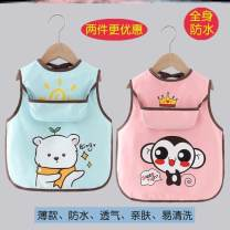 Reverse dressing yes S code (0-2 years old recommended), M code (2-4 years old recommended) Cartoon animation Polyester 100% Other / other other Sleeveless rice pocket smock 3 months, 12 months, 6 months, 9 months, 18 months, 2 years old, 3 years old, 4 years old, 5 years old Cartoon Chinese Mainland