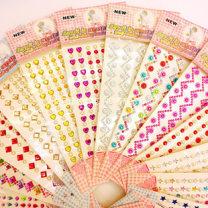 Stickers 2, 3, 4, 5, 6, 7, 8, 9, 10, 11, 12 years old DIY Acrylic drill 10-30 yuan Multi Sticker Set