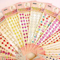 Stickers 2, 3, 4, 5, 6, 7, 8, 9, 10, 11, 12 years old DIY Acrylic drill 10-30 yuan Multi Sticker Set