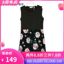 Dress Autumn of 2019 black S,M,L,XL,2XL,3XL Mid length dress Sleeveless Crew neck 35-39 years old Type X Yifni / Yifei T174Y412 More than 95%