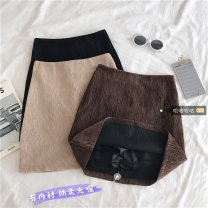 skirt Winter 2020 Average size (80 ~ 100kg), l plus (100 ~ 120kg), XL (120 ~ 140kg), 2XL (140kg ~ 160kg), 3XL (160kg ~ 180kg), 4XL (180kg ~ 200kg) Black, brown Short skirt commute High waist A-line skirt Type A 18-24 years old 31% (inclusive) - 50% (inclusive) Wool Other / other other Korean version