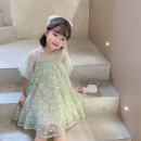 Dress Green, green female Other / other Other 100% summer other other 12 months, 18 months, 2 years old, 3 years old, 4 years old, 5 years old, 6 years old, 7 years old, 8 years old