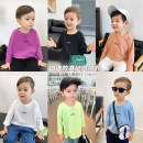 T-shirt Chen Chen's mother male spring and autumn Long sleeves Crew neck leisure time There are models in the real shooting other other F247 12 months, 18 months, 2 years old, 3 years old, 4 years old, 5 years old