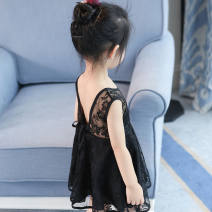 Parent child fashion Lace khaki, lace black, lace pink, lace white, red lace skirt, yellow shoulder, pink shoulder, green shoulder, rainbow skirt, yellow patchwork dress Women's dress female Other / other y2546 summer princess routine skirt other Other 100%