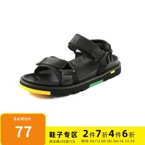 Sandals black 38,39,40,41,42,43 gxg.jeans Velcro Cattle hide (except cattle suede) Beach shoes GY150820C