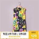 Dress Summer 2020 Yellow flower 38,40,42,44