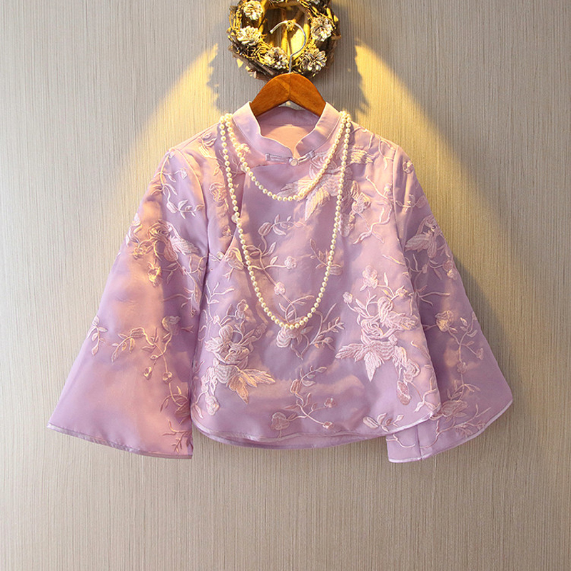 jacket Spring 2018 Purple and apricot S 97 kg, m 106 kg, l 116 kg, XL 126 kg, XXL 135 kg Small Good House 25-35 years old 30% and below