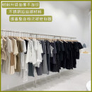 Clothing display rack clothing stainless steel Stainless steel frame on the wall Hengyuan clothing exhibition stand Official standard