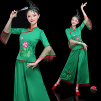 National costume / stage costume Summer of 2018 Rose red, red and green Customized 4XLXSSM custom 5XLLXLXXLXXXL custom 6XL tailored (not refundable) Famous and graceful MSZ2018107 100% other Pure electricity supplier (only online sales)