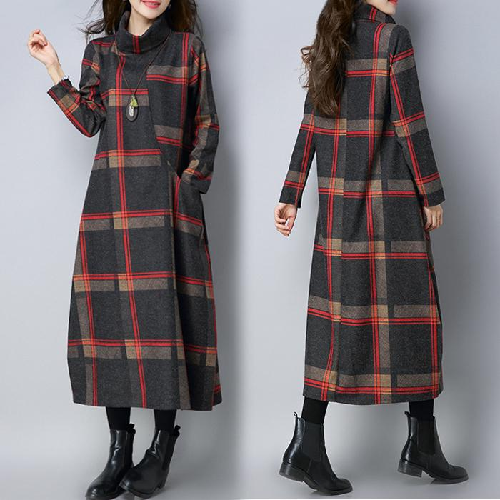 Dress other. Picture color Plush picture color M L XL XXL Korean version Long sleeves have more cash than can be accounted for winter High collar