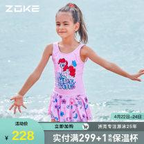 Children's swimsuit / pants Zoke / zhouke Children's one piece swimsuit female Spring 2021