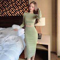 Fashion suit Spring 2021 S,M,L Grey, green, black 51% (inclusive) - 70% (inclusive)