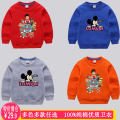 Sweater / sweater Other / other neutral spring and autumn nothing Cartoon Socket routine No model cotton Cartoon animation Cotton 100% BBYZ-WY0704 Class A Cotton liner