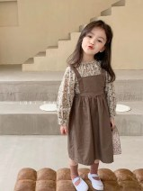 Dress Coffee + floral suit skirt female Other / other 90cm,100cm,110cm,120cm,130cm,140cm Other 100% spring and autumn princess Long sleeves Broken flowers cotton Strapless skirt 2021-3-11-2 other 7, 8, 3, 6, 2, 13, 11, 5, 4, 10, 9, 12 Chinese Mainland Guangdong Province Shenzhen City