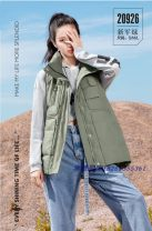 Down Jackets Winter 2020 Plume wave Warm apricot, haze blue, new army green S,M,L Grey duck down 50% routine zipper stand collar commute Solid color pocket 18-24 years old